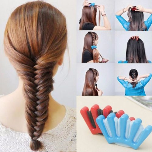 French Braid Tool Hair Accessory