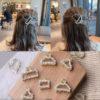 Hair Claw Pearl Ladies Accessories