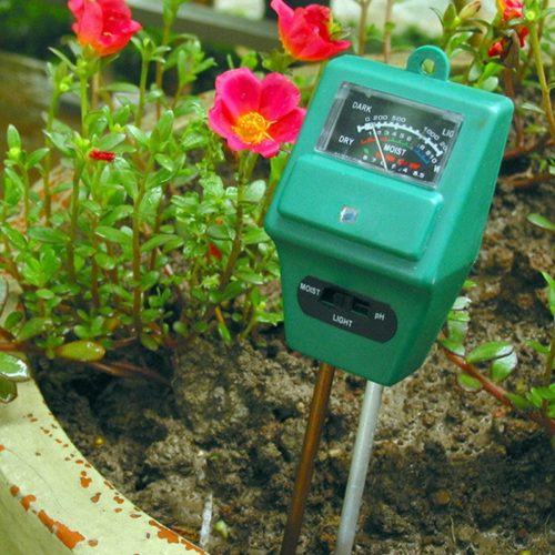 Soil Moisture Meter pH Sunlight 3in1