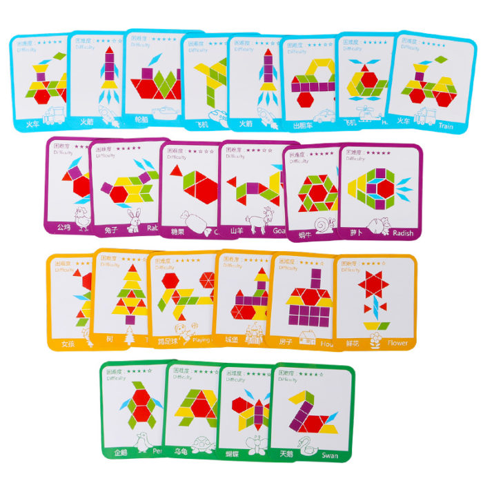 Wooden Puzzles For Kids Creative Toys