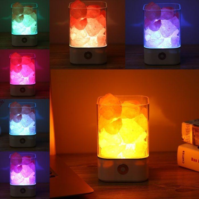Salt Crystal Lamp Himalayan Air Purifier