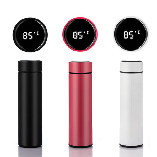 Smart Bottle Thermometer Vacuum Flask