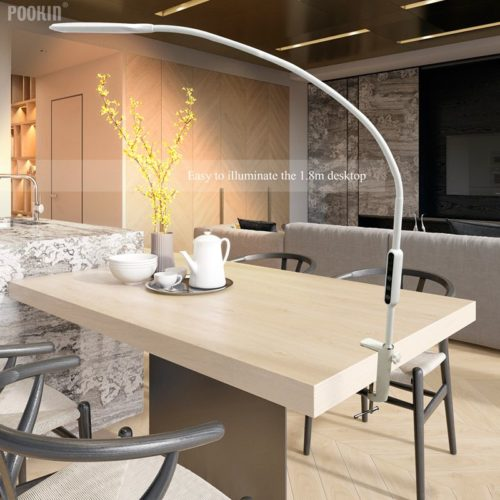 LED Panel Light Long Arm Clip Lamp
