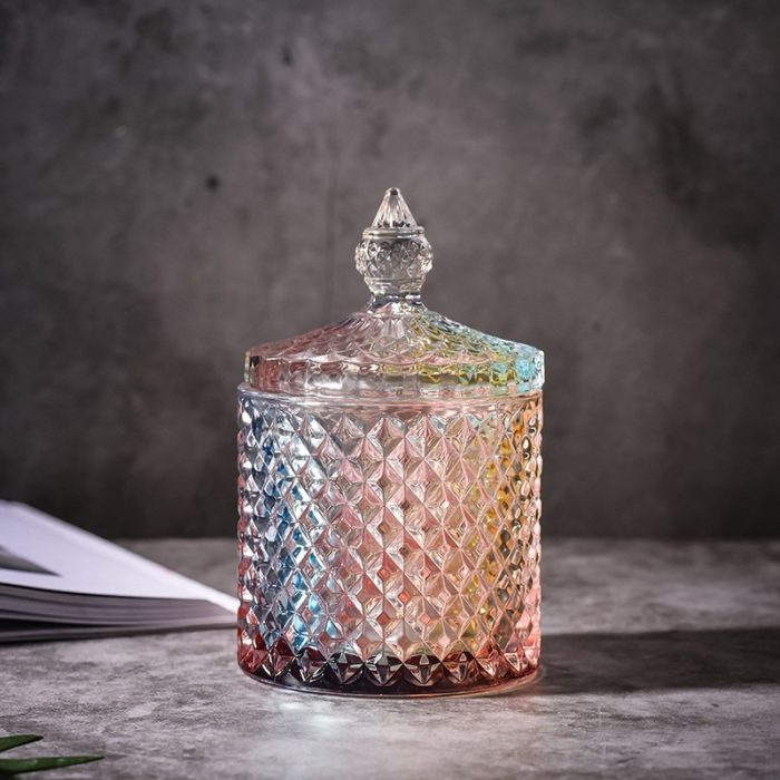 Glass Jar With Lid Storage Container