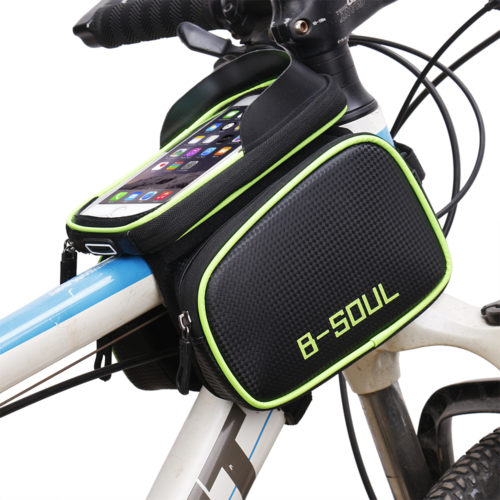Bicycle Bag with Phone Holder
