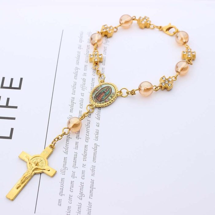 Rosary Bracelet Christening Giveaways