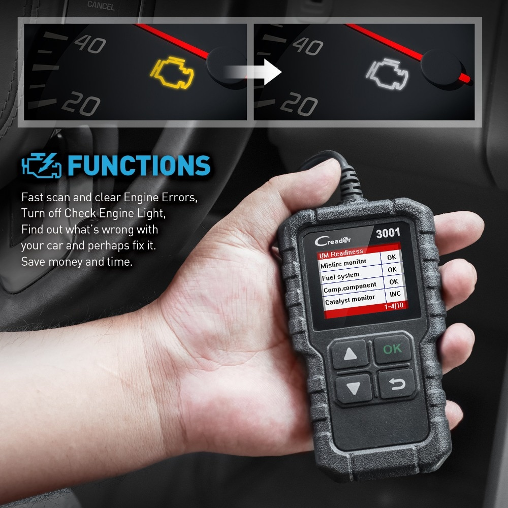 Engine Code Reader Car Diagnostic Tool
