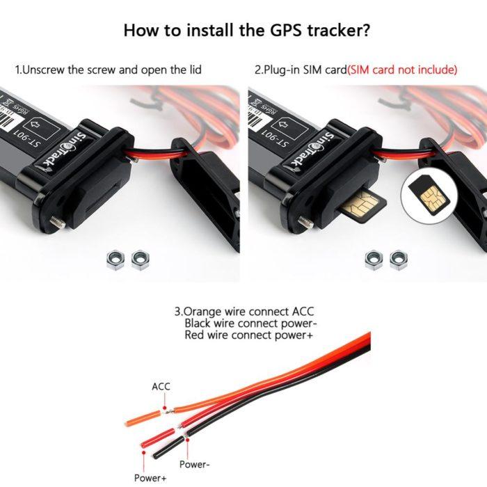 GPS Location Tracker Mini Device