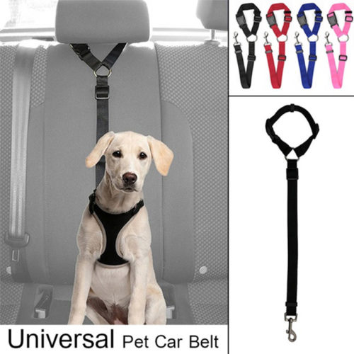 Dog Car Seat Belt Adjustable Leash