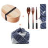 Japanese Bento Box Wooden Dinnerware Set