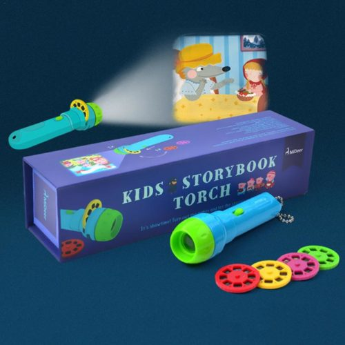 Kids Projector Storybook Torchlight