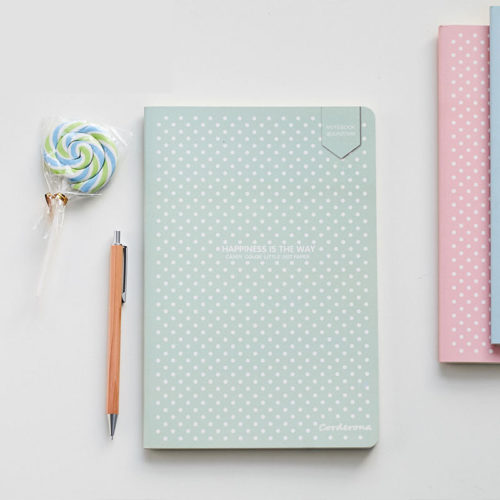 Dot Grid Notebook Soft Cover