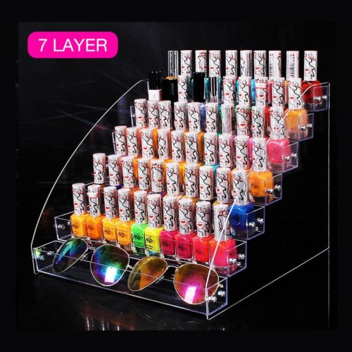 Nail Polish Organizer Acrylic Display
