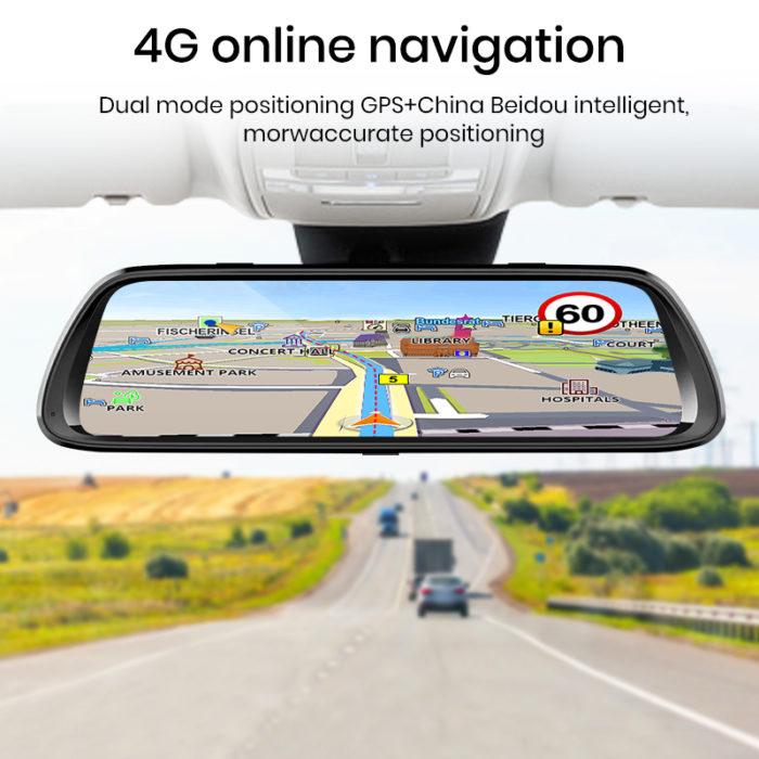 HD Mirror Cam Car Recorder