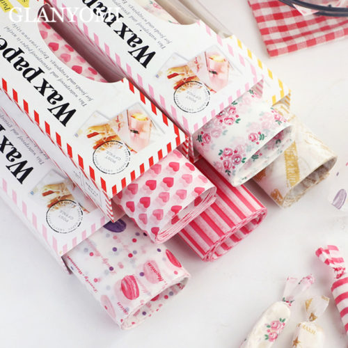 Wax Paper Printed Food Grade Wraps