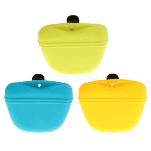 Dog Treat Bag Silicone Pouch