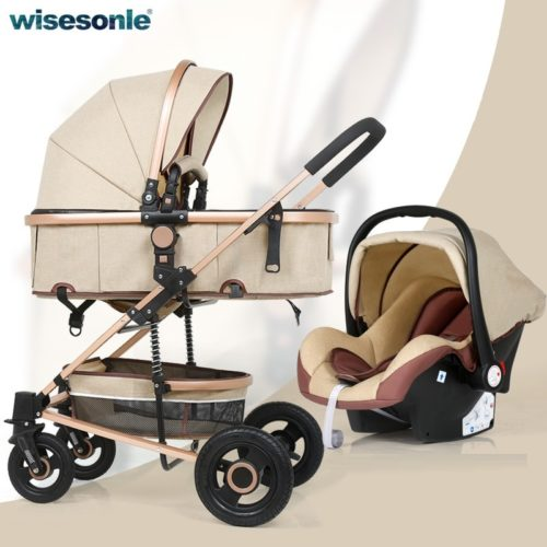 Baby Stroller 3in1 Carrier Car Seat