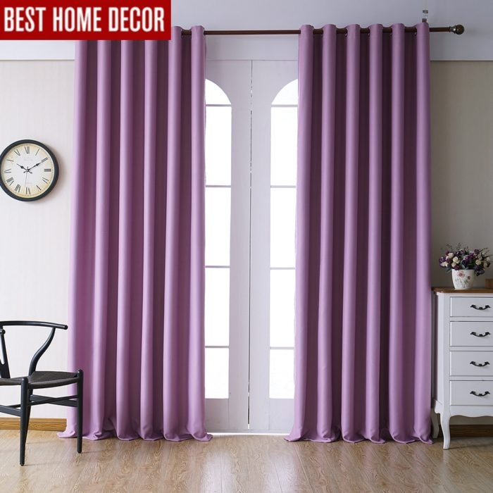 Blackout Curtain Modern Drapes
