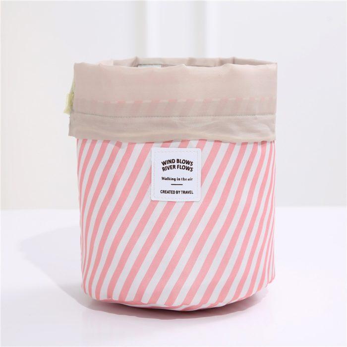Drawstring Makeup Bag Travel Pouch