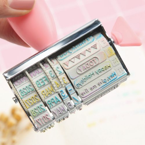 Date Stamp Words Roller Stamp