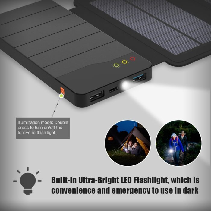 Solar Powerbank Outdoor Charger