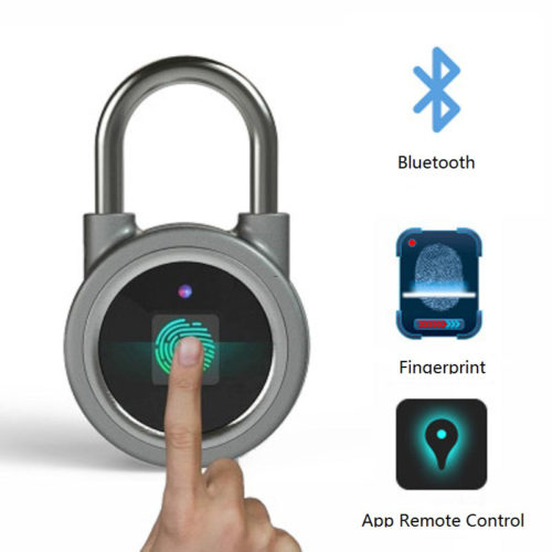 Smart Padlock Fingerprint Technology