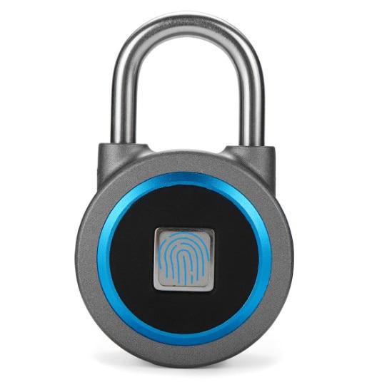Smart Padlock Fingerprint Technology