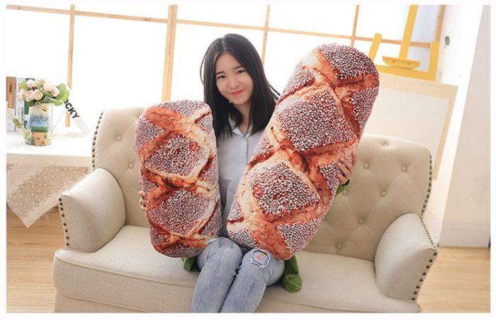 Soft Pillow Creative Bread Design