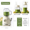 Fruit Juice Machine Portable Blender