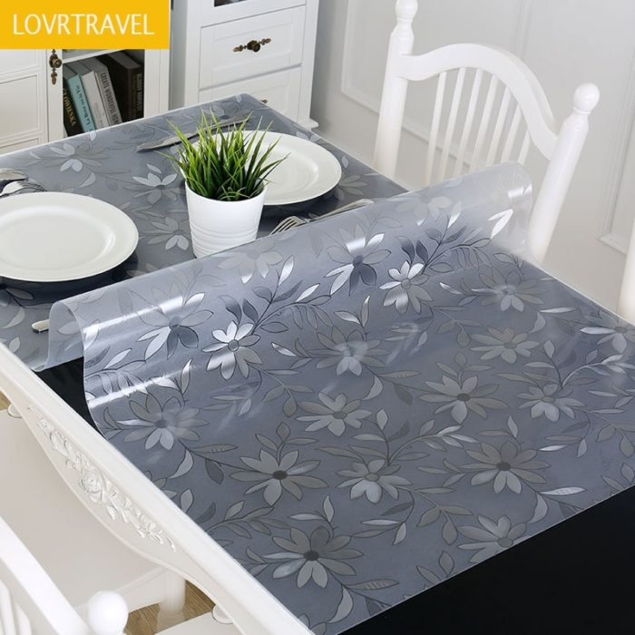 Table Cover Transparent Cover Mat