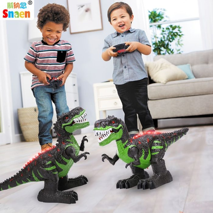 Remote Control Dinosaur Walking RC Toys
