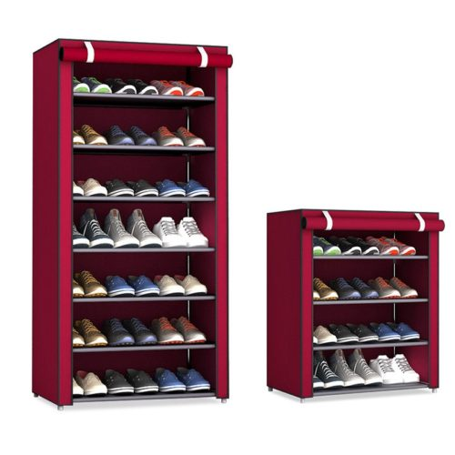 Shoe Stand Dust-Proof Storage