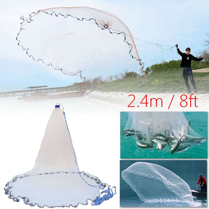 Cast Net Easy Throw Fishing Net