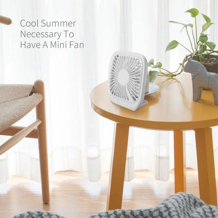 Electric Fan Portable USB Desk Fan
