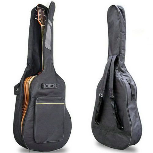 Guitar Bag Backpack Soft Case