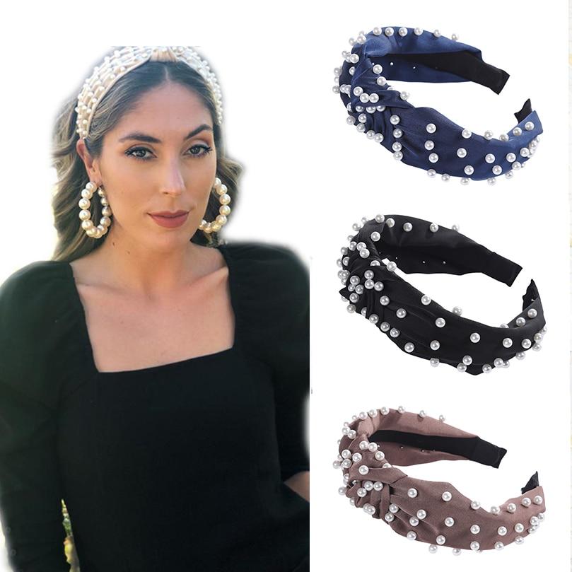 Fashion Hair Net Durable Pearl Decoration Delicate Women Hair Deocration 6A