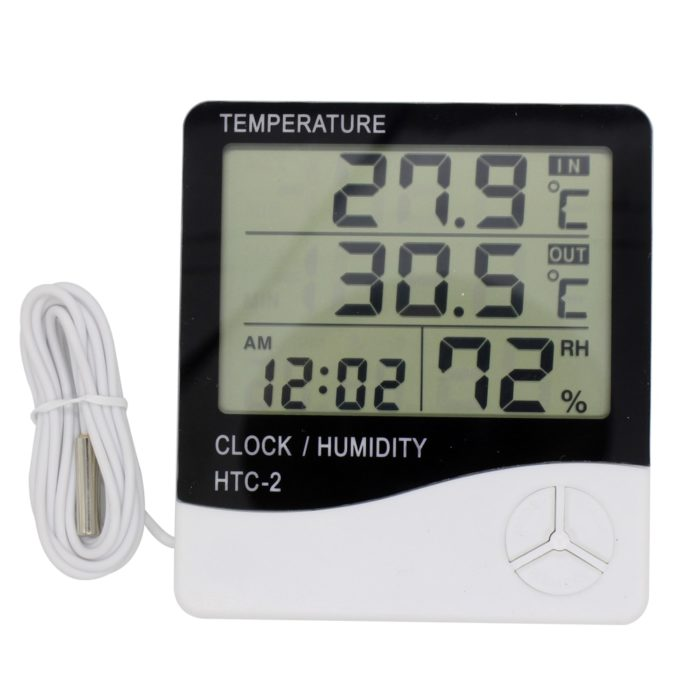 Digital Hygrometer LCD Display