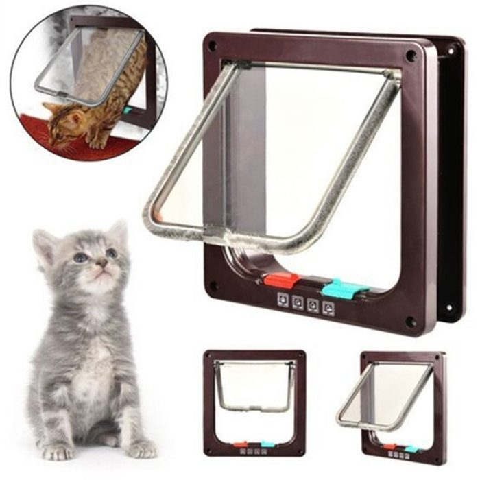 Dog Flap Lockable Pet Door