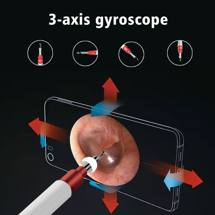 Ear Cleaning Tools HD WiFi Otoscope