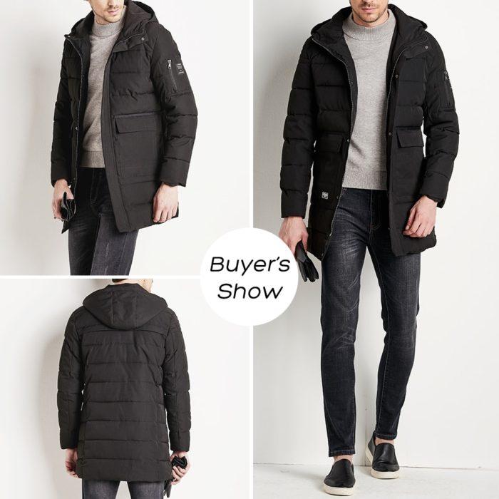 Jacket For Men Hooded Coat