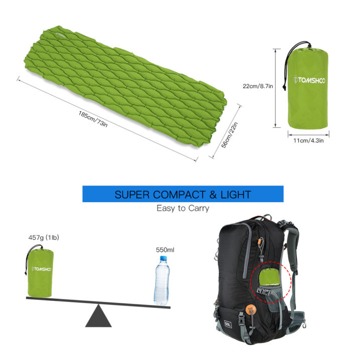 Sleeping Pad Inflatable Mattress