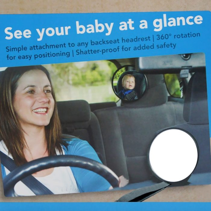 Car Seat Mirror Child Safety Mirror