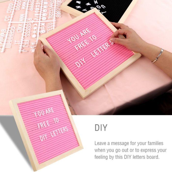Felt Letter Board DIY Message Board