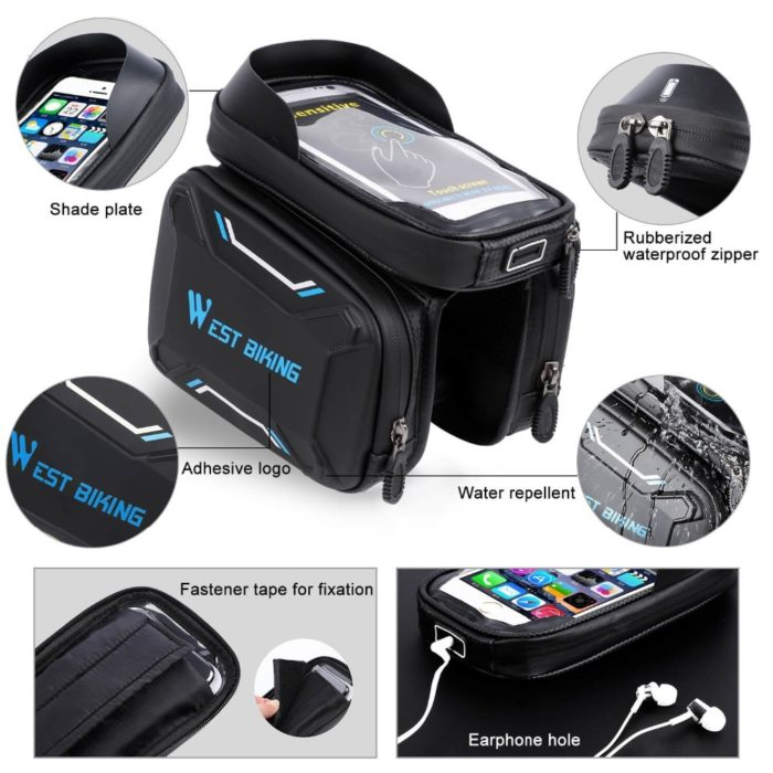 Bike Frame Bag Small Container