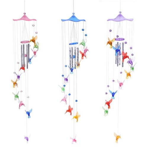 Wind Chimes Hanging Hummingbirds