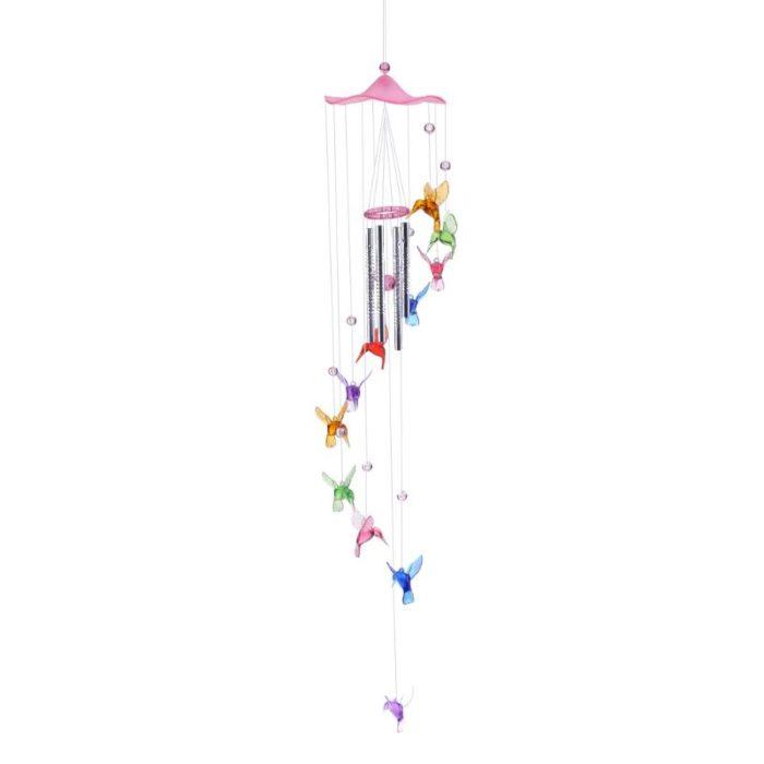 Wind Chimes Hanging Hummingbirds