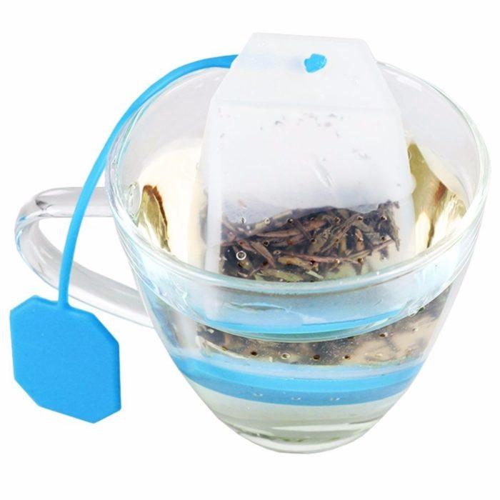 Reusable Tea Bag Silicone Infuser Filter