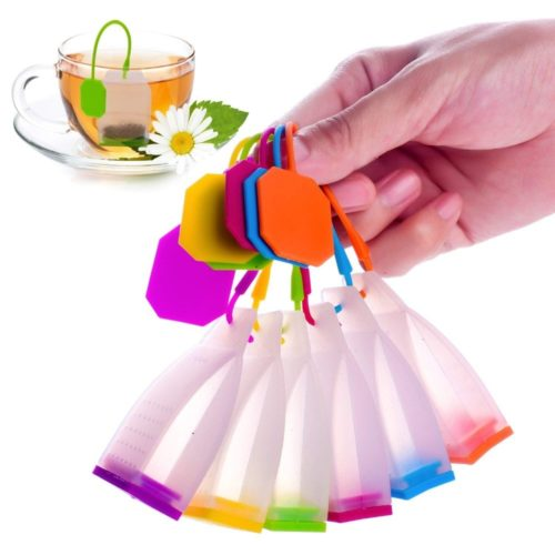 Reusable Tea Bag Silicone Infuser Filter