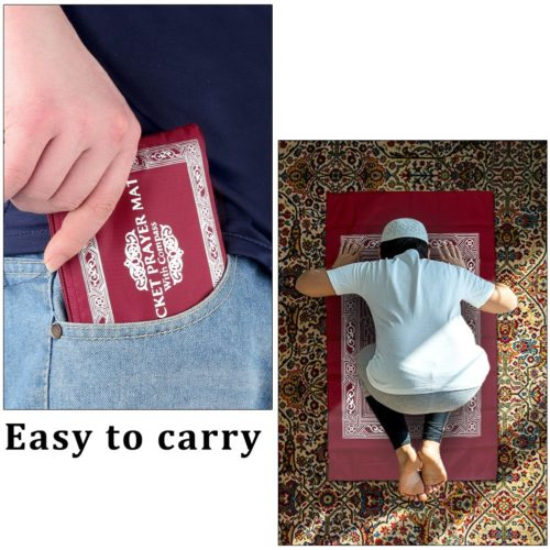 Prayer Mat Waterproof Pocket Carpet