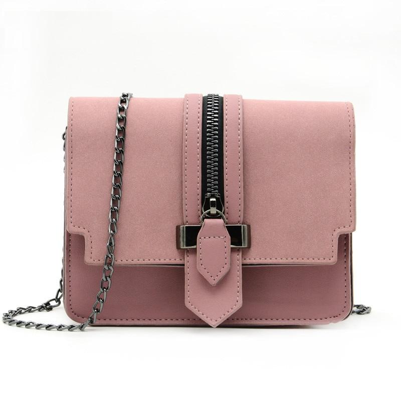 Cute Crossbody Bag With Chain Strap